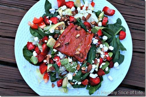 wiaw- asian salmon salad