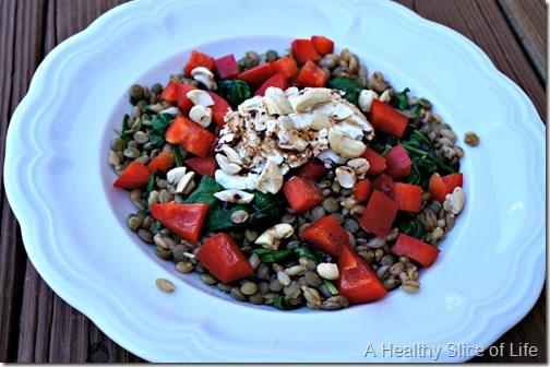 wiaw- barley lentil bowl
