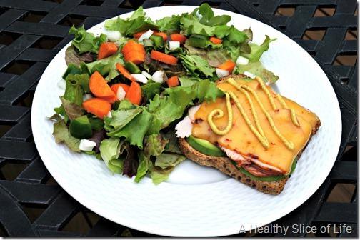 wiaw- girl scouts- open faced sandwich
