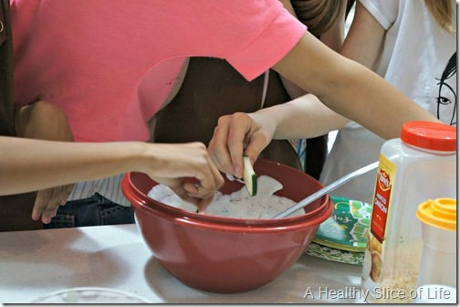 wiaw- girl scouts- ranch dip