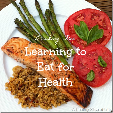 Learning to Eat for Health Over Weight