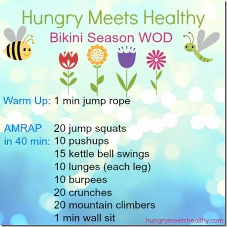 hungry meets healthy bikini AMRAP