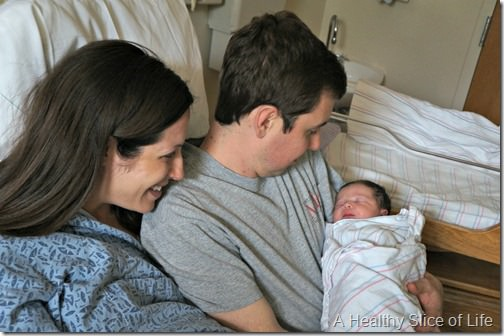 kyla is here- new family