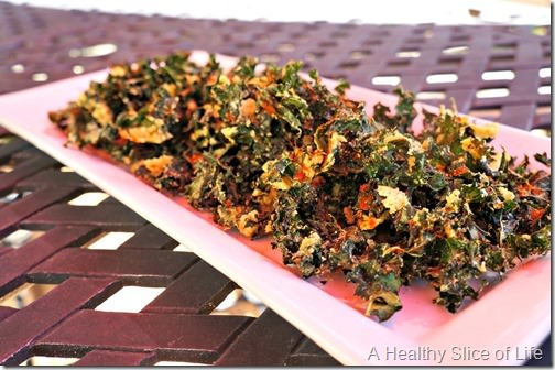 memorial day- kale chips