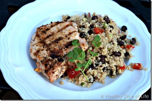 what i ate wednesday- mexican quinoa
