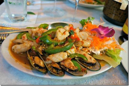 yolo- Basil mixed seafood Charlotte NC