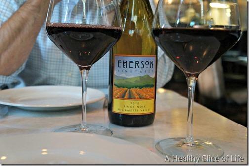 yolo- wine at Basil Charlotte