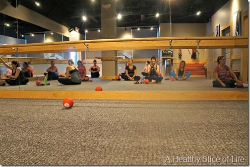 Pure Barre Lake Norman- the room