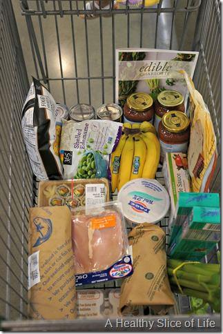 backwards grocery shopping- wf cart