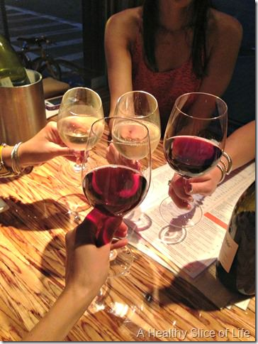 boston girls weekend- day 1- wine bar