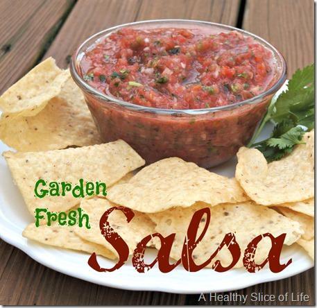 The Secret to Perfect Garden Fresh Salsa