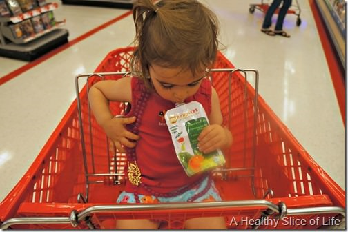 grocery shopping with a toddler- necklace or toys