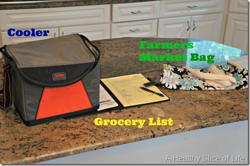 grocery shopping with a toddler- supplies