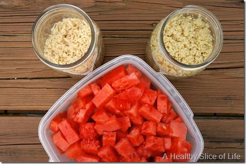 meal prep- grains