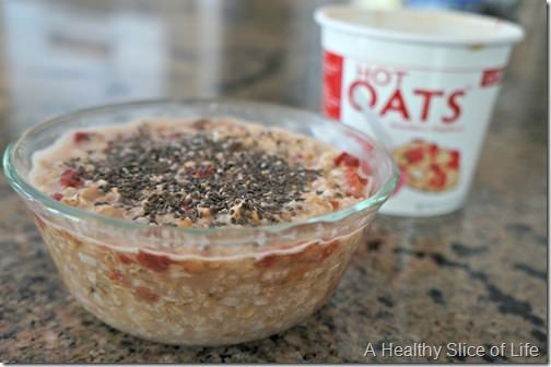 new products- LOVE grown hot oats