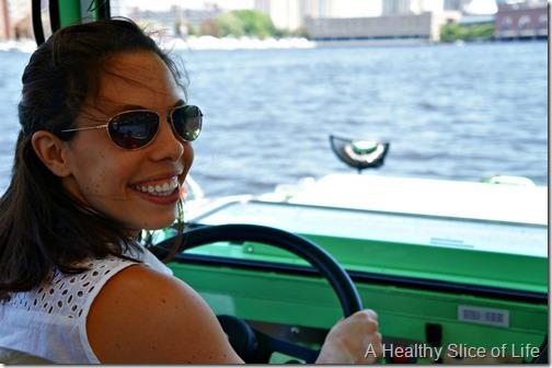 part 2 girls trip to boston- driving the duck tour