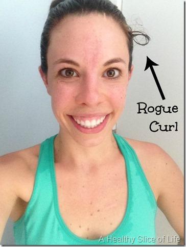 return to hot yoga- crazy hair