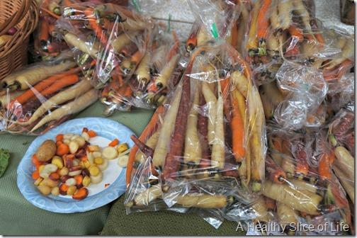 savannah- forsyth farmers market carrots