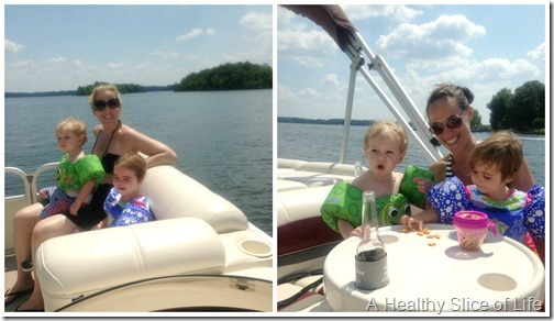 summer weekend- boating with the girls