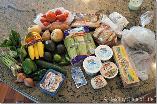 summer weekend- grocery haul
