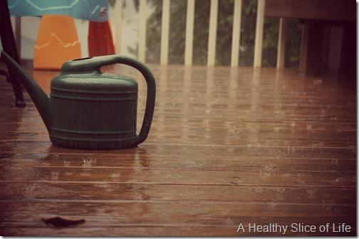 4th of July- raining