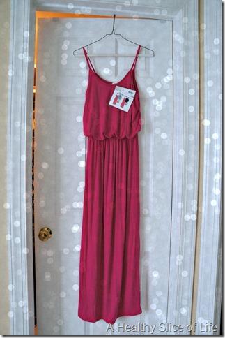 Stitch Fix empire waist maxi dress- love