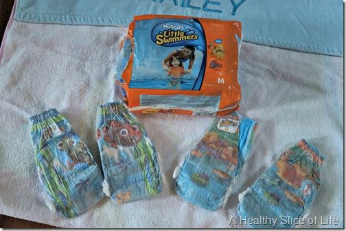 Toddler Pool and Beach Bag- Huggies Little Swimmers Diapers