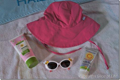 Toddler Pool and Beach Bag- sun protection