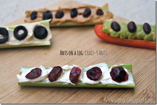 ants on a log crais-y ants