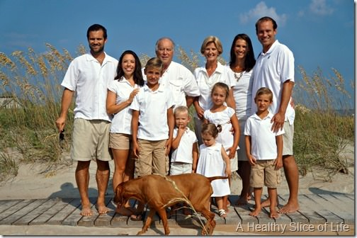 bald head island- family picture
