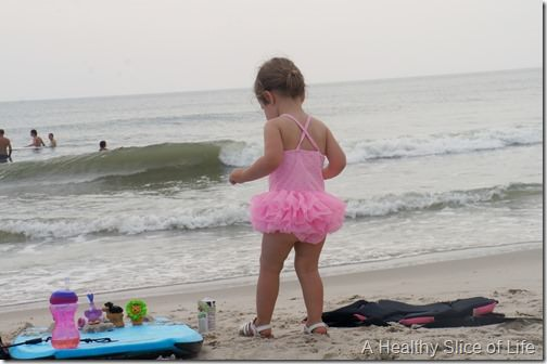 bald head island- toddler beach