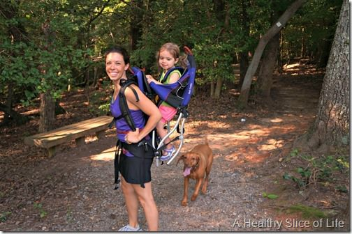 lake norman state park hiking with toddler