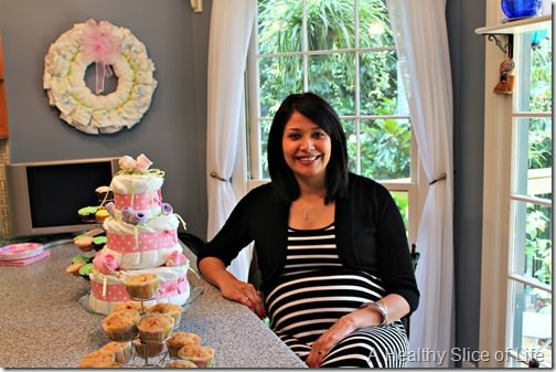 maya's baby shower- guest of honor