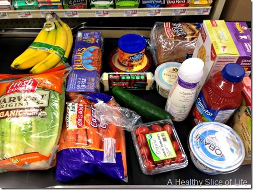 simple healthy meals- no list grocery shopping