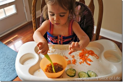simple healthy meals- sharing with a toddler