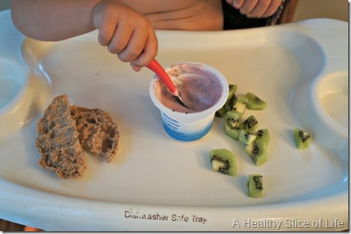 toddler meal- 22 months old- breakfast