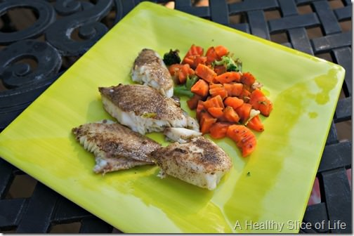 toddler meal- 22 months old- fish