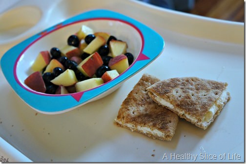 toddler meal- 22 months old- quick breakfast