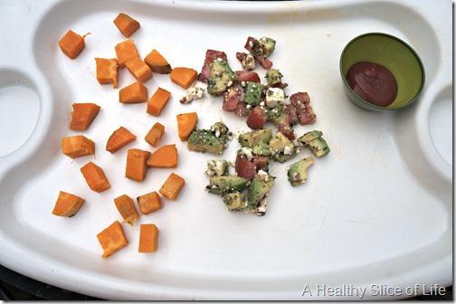 toddler meal- 22 months old- veggie