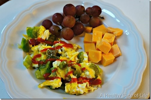 eating for balancing blood sugar- breakfast
