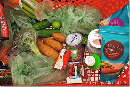 grocery budget focus- Target
