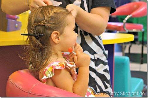 h first haircut- lollipop
