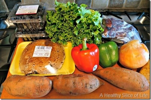 meal planning and grocery budget- Healthy Home Market produce