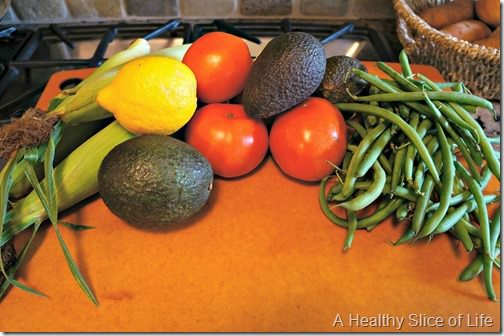 meal planning and grocery budget- Josh's Farmers Market produce