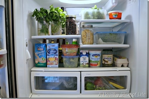 meal planning and grocery budget- healthy fully prepped fridge