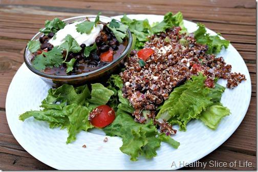 veggie heavy lunch