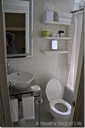 NYC Part 1- The Hudson bathroom