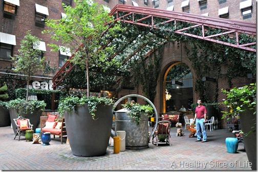 NYC Part 1- The Hudson tequila park