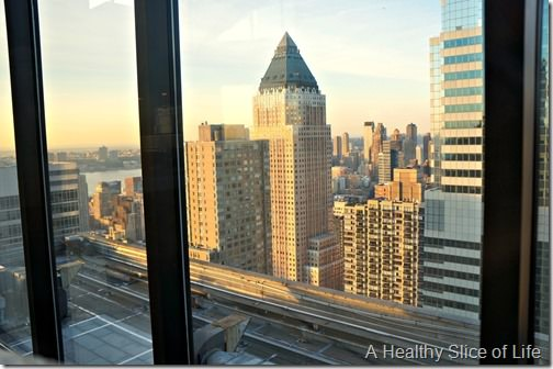 NYC Part 1- The View restaurant view
