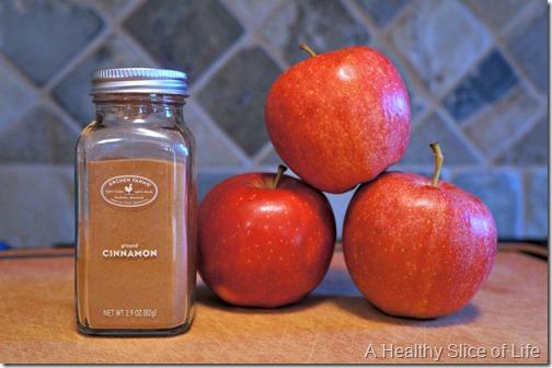 apple cinnamon oat muffins- apple cinnamon